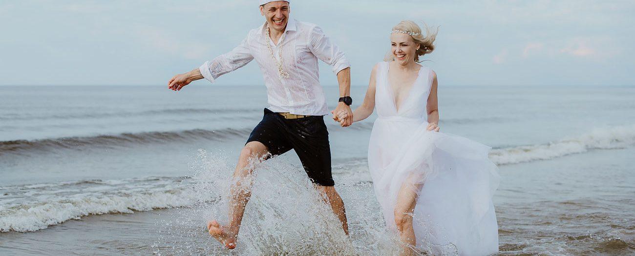 Pludmales kāzas // Kaspars+Diāna